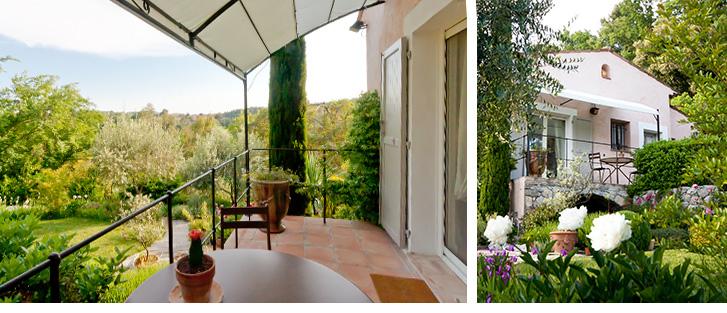 Profitez de votre séjour sur la Côte d'Azur dans notre Chambre d'Hôtes.