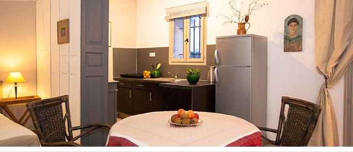 Kitchenette équipée, gîte ou chambre d'hôte, riviera